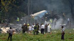 Se estrella un avión de Cubana de Aviación en La