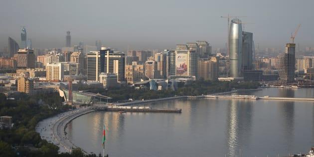 Bakou, Azerbaïdjan.