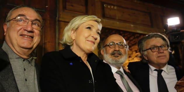 Marine Le Pen à Byblos au Liban le 19 février 2017.