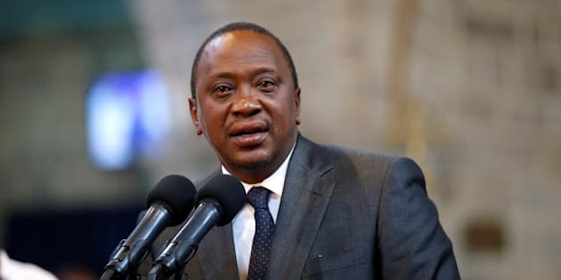 Kenya's President Uhuru Kenyatta delivers a speech during a ceremony at the All Saints Anglican Church in Nairobi, Kenya November 5, 2017.
