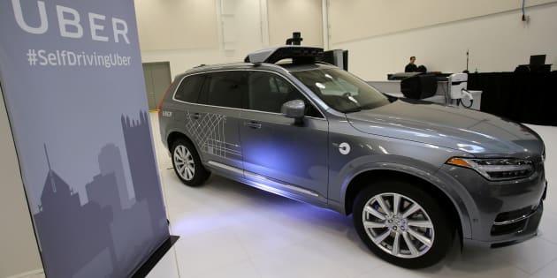 La voiture autonome d'Uber aurait bien vu le piéton avant de l'écraser, mais l'aurait pris pour autre chose