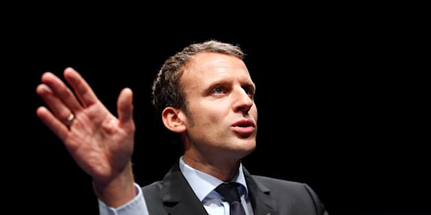 Emmanuel Macron à Marseille le 17 novembre 2016.