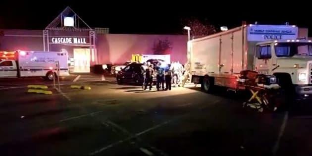 Shooting at Washington State mall