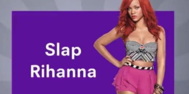 l'image de Rihanna utilisée pour une pub Snapchat.