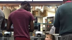 This Toddler Is The Real MVP For Telling A Stranger His Trousers Are Falling