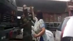 Watch: Gurgaon Woman Repeatedly Slaps Soldier, Now