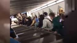 L'accident d'escalator à Rome, un incident