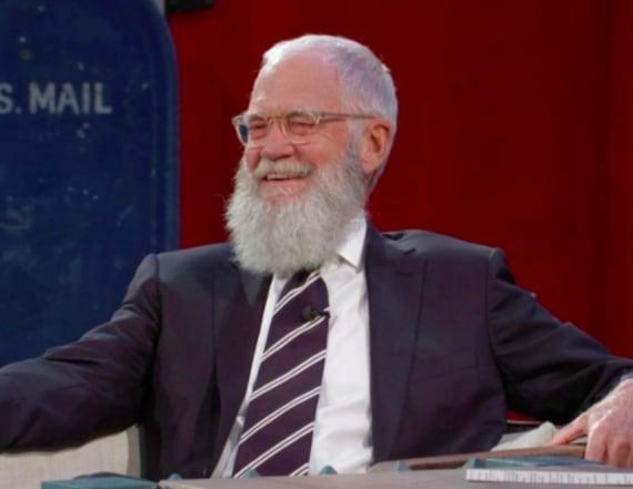 David Letterman returns to late night on 'Kimmel'