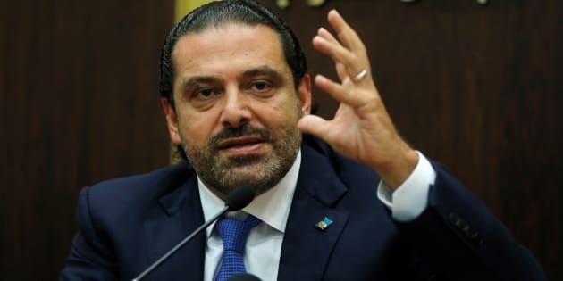 """Saad Hariri, le Premier ministre libanais se dit """"libre"""" et va """"bientôt rentrer au Liban"""""""