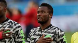 Le capitaine du Nigeria a joué contre l'Argentine 4 heures après avoir appris le kidnapping de son
