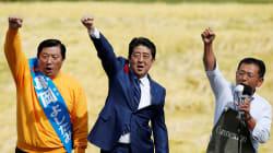 Large victoire du premier ministre japonais Shinzo Abe aux