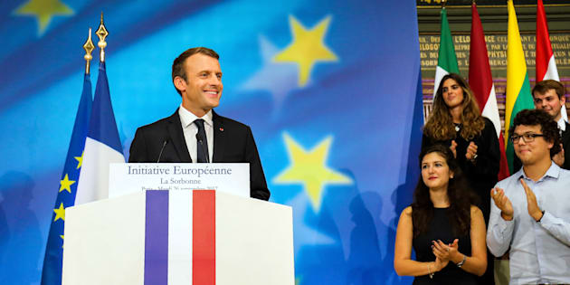 L'essentiel du programme européen d'Emmanuel Macron.