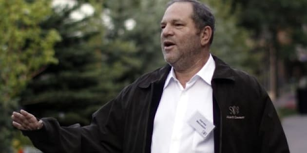 Harvey Weinstein, the former chairman of The Weinstein Company arrives at the Sun Valley Inn in Sun Valley, Idaho on July 9, 2009.