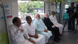 PHOTOS: Prime Minister Narendra Modi Inaugurates Kerala's First Metro In