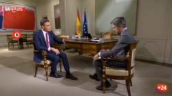 El sutil detalle en la entrevista de Pedro Sánchez en TVE: no has dejado de