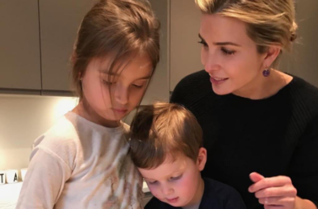 Ivanka Trump Bakes Jewish Purim Treats With Kids In Instagram Photo