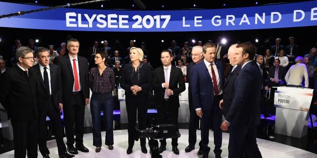 Regardez (et écoutez) les professions de foi des onze candidats à l'élection présidentielle