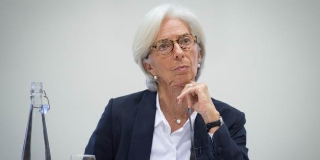 Christine Lagarde, directora del FMI, en Londres. REUTERS/Stefan Rousseau/Pool