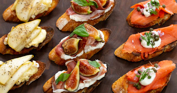 3 easy crostini appetizers to make for a party