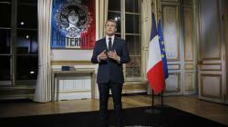 La position d'Emmanuel Macron lors de ses voeux fait réagir les