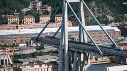 Des craquements du reste du pont de Gênes interrompent les opérations de