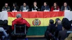 Zapatero, Iglesias y Garzón se unen para defender a Evo