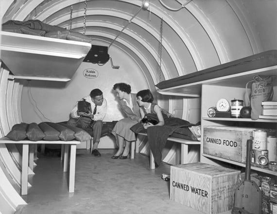 Vintage photos show US preparing for nuclear war
