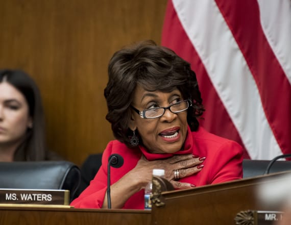 Rep. Maxine Waters: 'You can't trust this president'