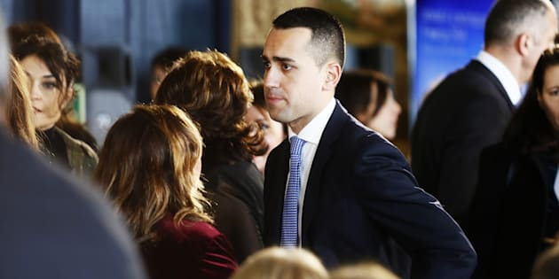 ROME, ITALY - MARCH 08: Luigi Di Maio attends the International Women's Day Celebrations at Palazzo del Quirinale on March 8, 2018 in Rome, Italy.  (Photo by Ernesto Ruscio/WireImage)