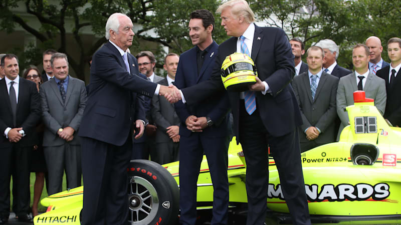 Trump will present Medal of Freedom to former racer Roger Penske