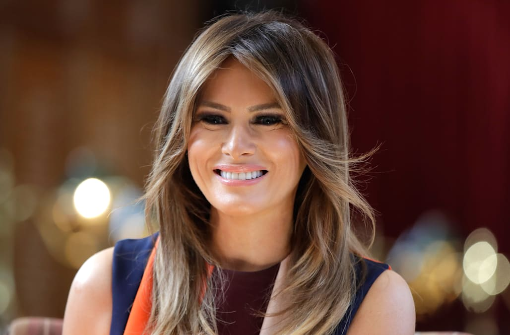 Flotus Melania Trump Made Headlines This Week After A Photo Of Her From 2017 Went Viral The Photo In Question Is From An Afternoon When She Welcomed