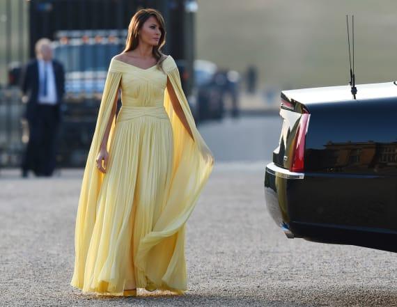 Melania Trump's best looks in 2018