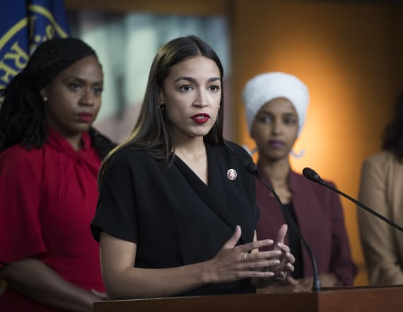 AOC on Trump's attack: 'No bottom to the barrel'