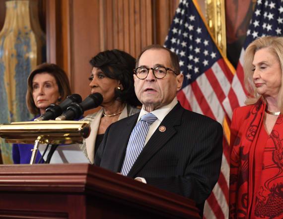House Dems unveil charges against Trump