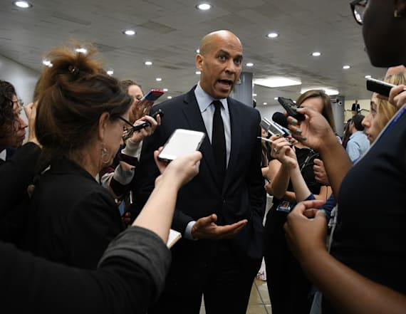 Cory Booker says Georgia election is being 'stolen'