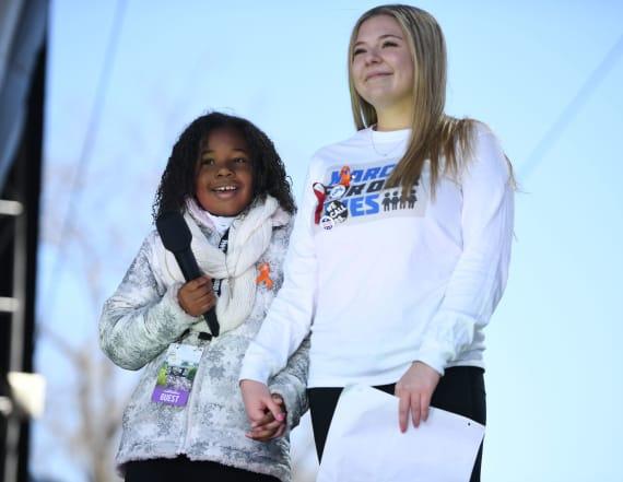 MLK's granddaughter speaks for 'a gun-free world.'