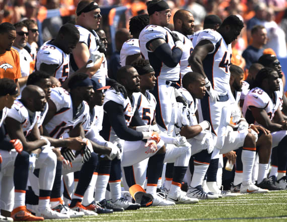 NFL to fine players who kneel during national anthem
