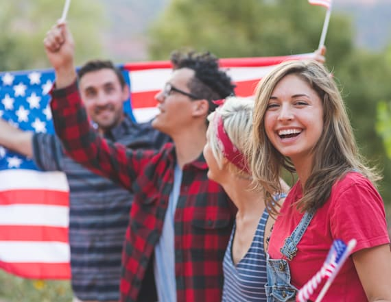 Patriotic style pieces to rock on the Fourth of July