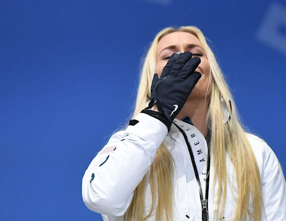 Vonn spreads grandfather's ashes in South Korea