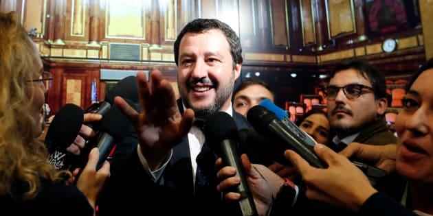 """Salvini dopo la bocciatura della manovra: """"La lettera d"""