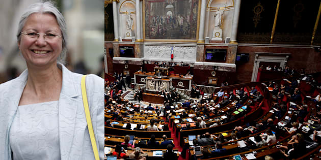 """La députée LREM Agnès Thill s'en est prise à une collègue pour dénoncer le poids du """"puissant lobby LGBT"""" à l'Assemblée nationale."""