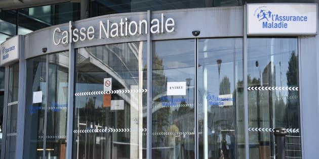 Le siège parisien de la Caisse Nationale d'Assurance Maladie pris le 25 août 2016.