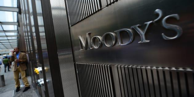 Le siège de l'agence de notation Moody's à New York, en septembre 2012