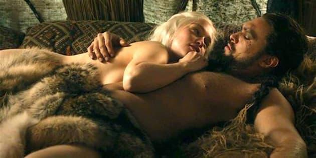 Escena de sexo en 'Juego de Tronos'.