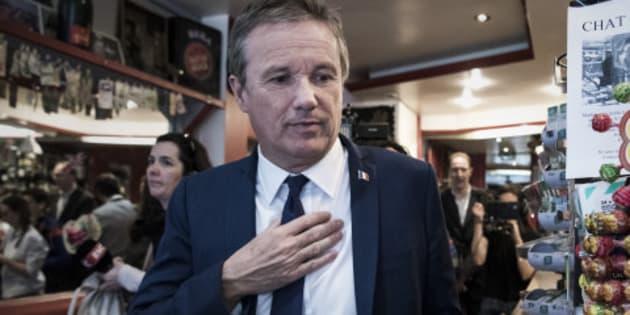 Plusieurs proches de Nicolas Dupont-Aignan claquent la porte après son soutien à Marine Le Pen
