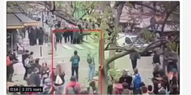 Affaire Benalla: les images de vidéosurveillance de la Contrescarpe ont été diffusées sur Twitter