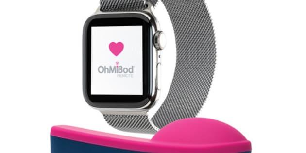 Le vibrateur OhMiBod pourra être activé à distance avec l'Apple Watch.