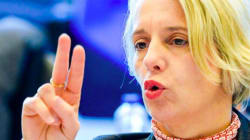 Helga Stevens, la candidate sourde qui veut présider le Parlement