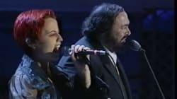 20 anni fa l'Ave Maria indimenticabile con Pavarotti. Tutti i duetti di Dolores O'Riordan con i cantanti