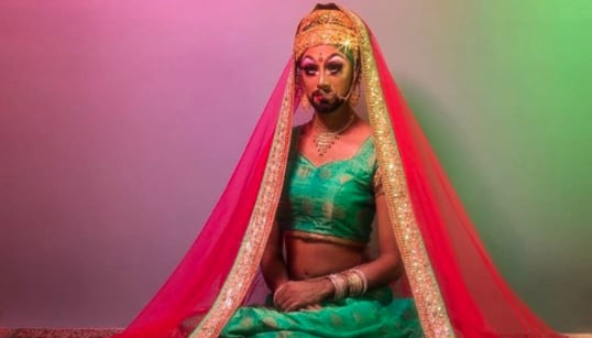 For This South Asian Drag Queen, Living A Double Life Is Completely